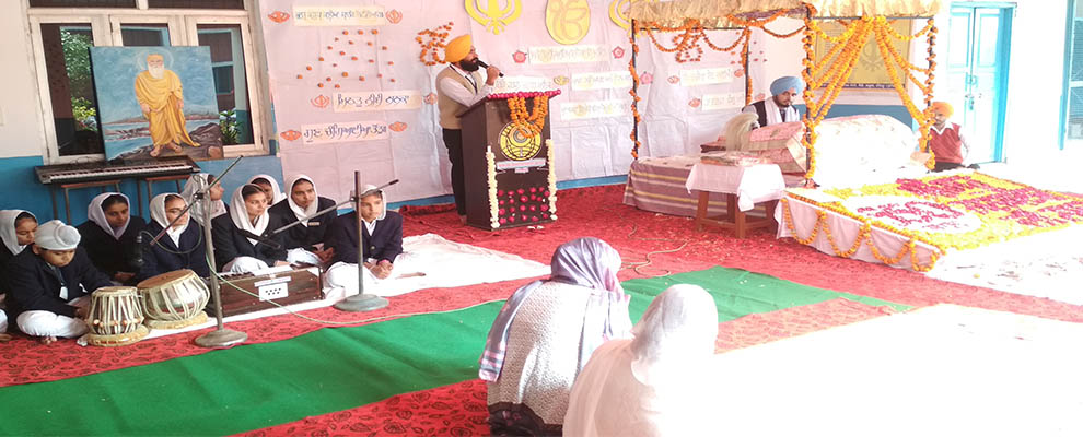 Gurbani Kirtan by Students
